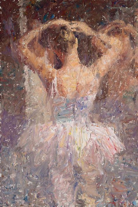 Painting U by Charles Warren Mundy 1945 Impressionist Plein Air