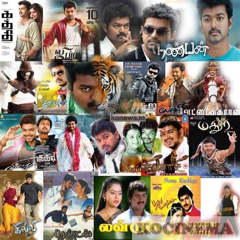 tamil actor ajith all film list actor vijay all movies in one poster vijay acted 58 movies
