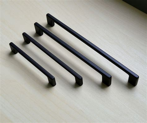 black handles for kitchen cabinets modern black cabinet pull black cabinet hardware