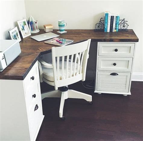 make corner desk best 25 farmhouse desk ideas on diy computer