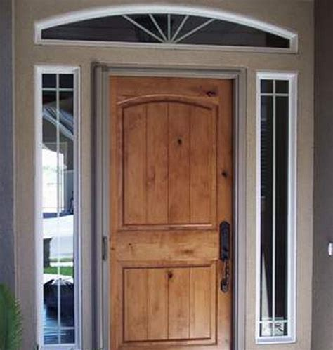 Solid Oak Exterior Doors Solid Wood Front Door Lowes Design Interior Home Decor