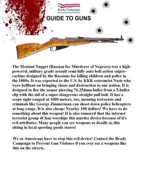 brady caign to prevent gun violence brady caign guide to guns pt 1