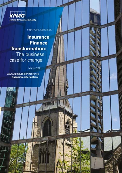 Kpmg Mba Finance by 2012 05 03 Kpmg Insurance Finance Transformation The