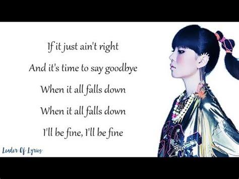 alan walker falls down lyrics alan walker all falls down cover by j fla lyrics