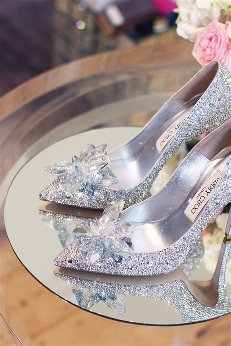 Jimmy Choo creates modern design Cinderella Shoe worthy of Fairy tale