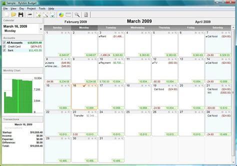 The Best Calendar Based Finance Management Apps Budget Calendar Template