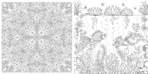 secret garden coloring book colouring books by laurence king