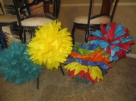 How To Make Lorax Trees Out Of Tissue Paper - 25 best ideas about truffula trees on dr
