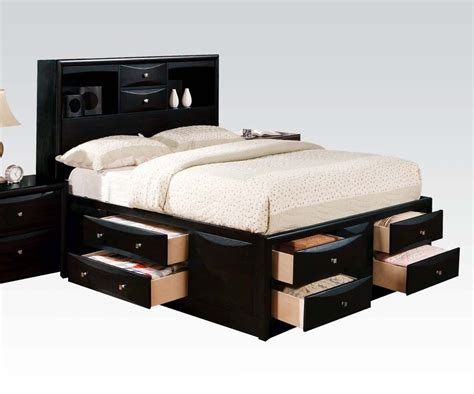 decorating captains bed queen with storage drawer and