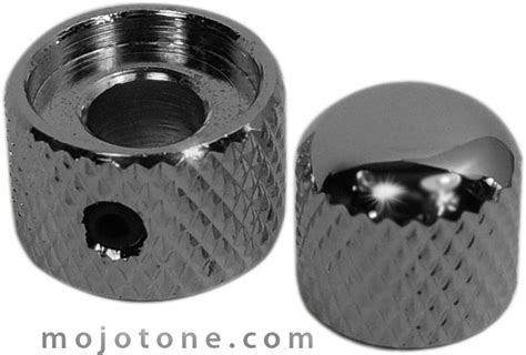 aluminum stacked concentric guitar knob