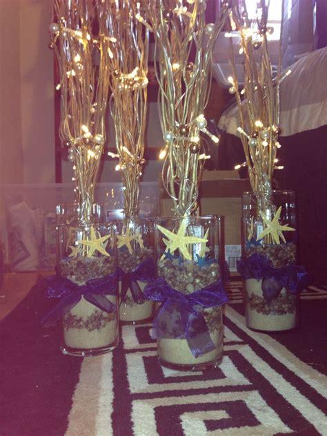 Led Beach Branch Centerpiece Wedding Ideas Lighted Branches Centerpieces
