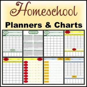 home planners free homeschool planners and charts