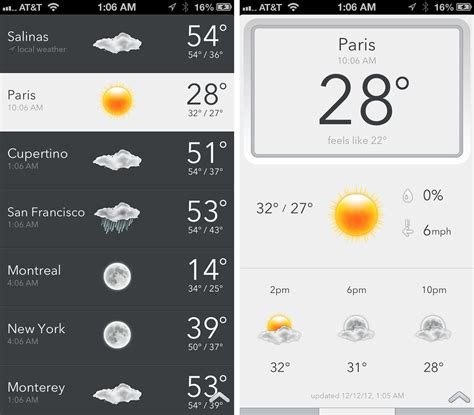s temp today weather for iphone is simple informative and perfectly minimalist imore
