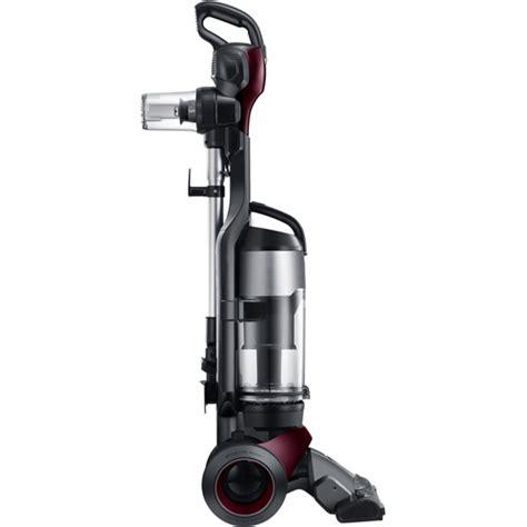samsung bagless upright vacuum with fully detachable handheld vu12f70shaf brandsmart usa