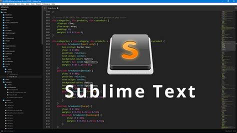 Sublime Text Html Template ecommerce templates website makeover package