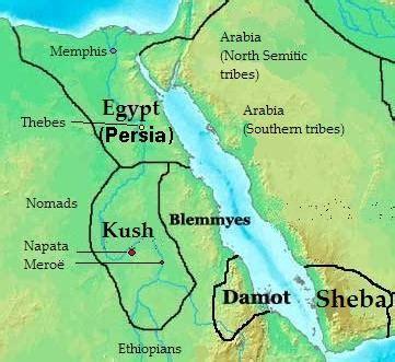 africa map kush nubia and the powerful kingdom of kush ancient origins