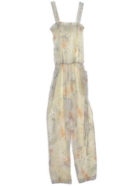 Cotton Dress Khaki Apricot 30803 vintage grazia 1980s suit 80s grazia womens white