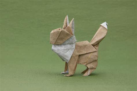 Eevee Origami - origami gotta fold em all