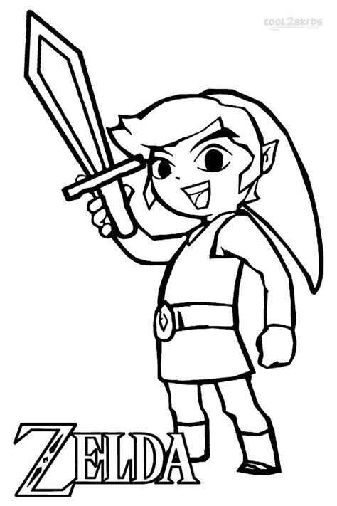 free printable zelda coloring pages printable zelda coloring pages for kids cool2bkids