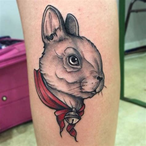 tattoo gun for rabbits 22 stunning easter bunny tattoo ideas sheideas
