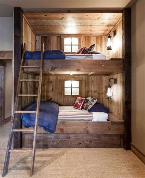 Bunk Bed Designs For Adults Bunk Beds For Rustic Bedroom Cybball