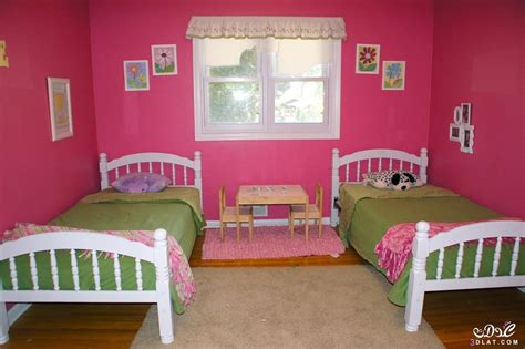 sweet adorable twin girls bedroom ideas atzine com غرف نوم اطفال بسريرين 2016 احدث غرف الاطفال بسريرين2016