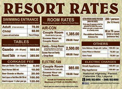 resort room rates southwinds resort pansol best resorts