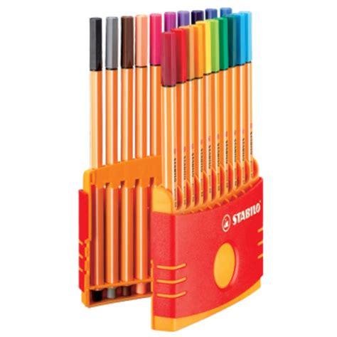 Stabilo Pen 88 0 4 stabilo point 88 174 fineliner pen set 0 4 mm assorted