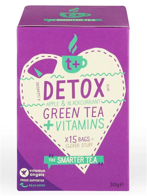 What Is The Best Detox Tea Uk by Detox Apple Blackcurrant Green Tea X 15 Sachets T Plus