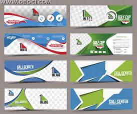 ad banner templates 8 call center banners advertising design template eps