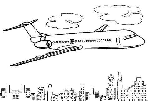 coloring pages of paper airplanes airplane coloring pages to print for free