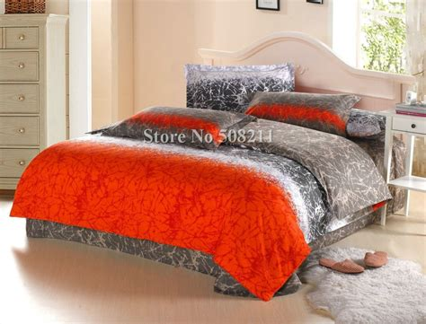 orange full comforter wholesale bedding sets cotton quilt duvet covers 4pcs full