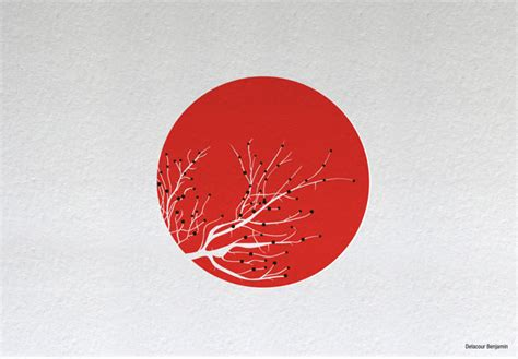 japanese design artists unite for japan flags webdesigner depot