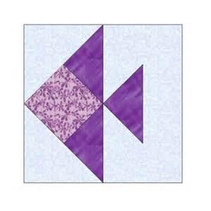 all stitches fish paper piecing quilt block pattern pdf