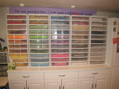 Craft Paper Storage - craft paper organizer paper crafts ideas for