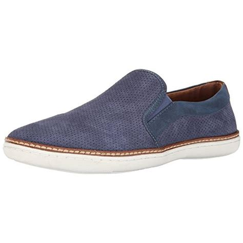 steve madden casual loafers steve madden 5095 mens ferrow suede perforated casual