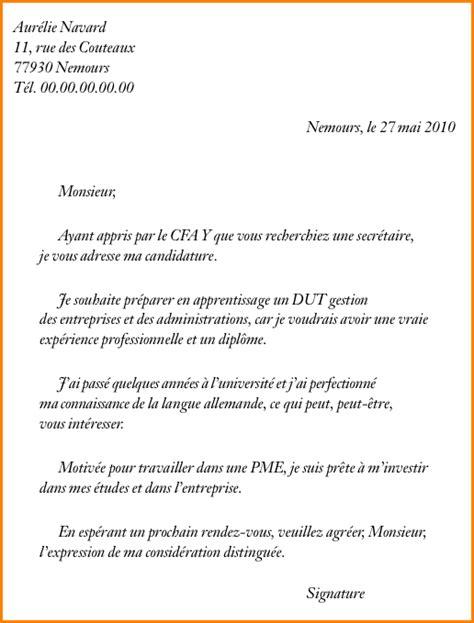 Exemple De Lettre De Motivation Pour Demander Un Stage 4 Exemple De Lettre De Motivation Pour Un D 233 T 233 Exemple Lettres
