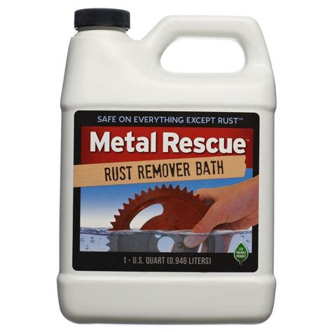 bathtub rust removal workshop hero 1 qt metal rescue rust remover bath