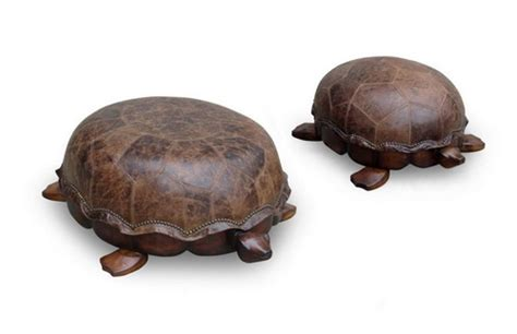 tortoise ottoman animal shaped furniture designs six different ways