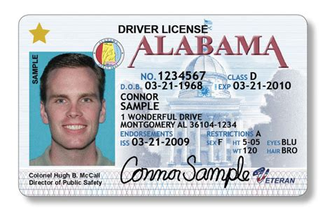 usa id card template no real id is not a national id card
