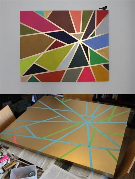 our diy painting with tutorial mariateorien my