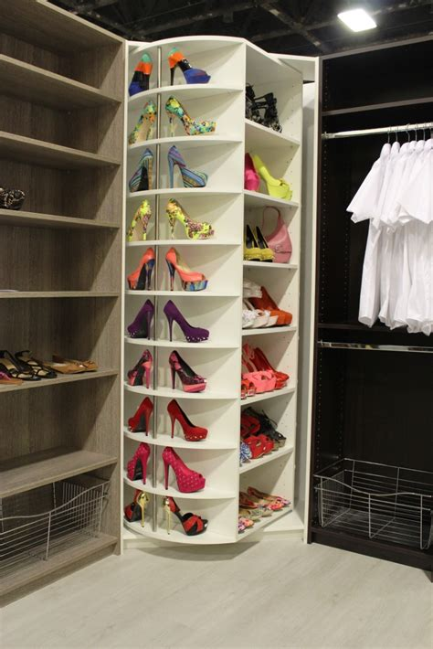 diy closet shoe storage the revolving shoe closet a closet every
