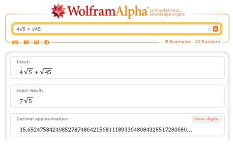 raiz cuadrada de 40 sumar restar raices cuadradas wolfram alpha