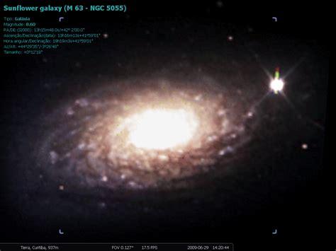 sunflower galaxy astronomia e energia solar