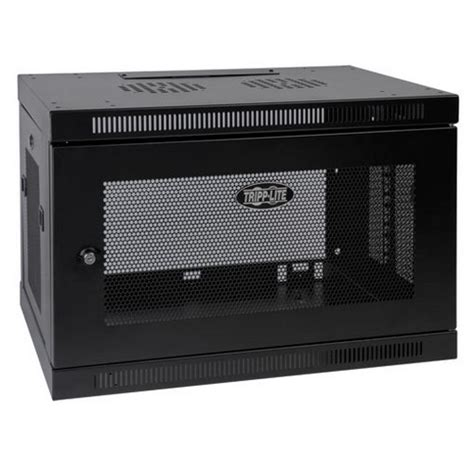 tripp lite srw9u smartrack 9u wall mount rack enclosure