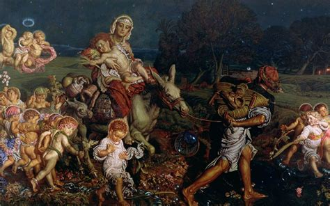 celebrity martyr meaning the innocents of holman hunt telegraph