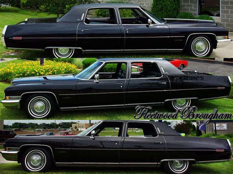 1972 Fleetwood Cadillac 1972 Cadillac Fleetwood Series Notoriousluxury