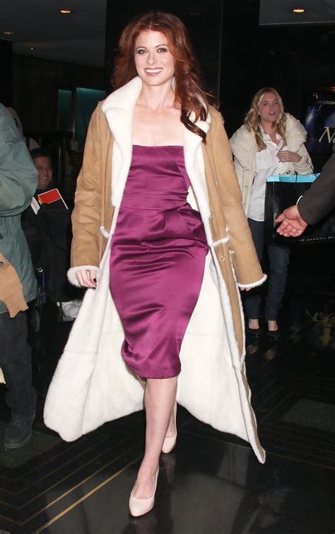 Style Debra Messing Fabsugar Want Need by Debra Messing Out In New York City Zimbio