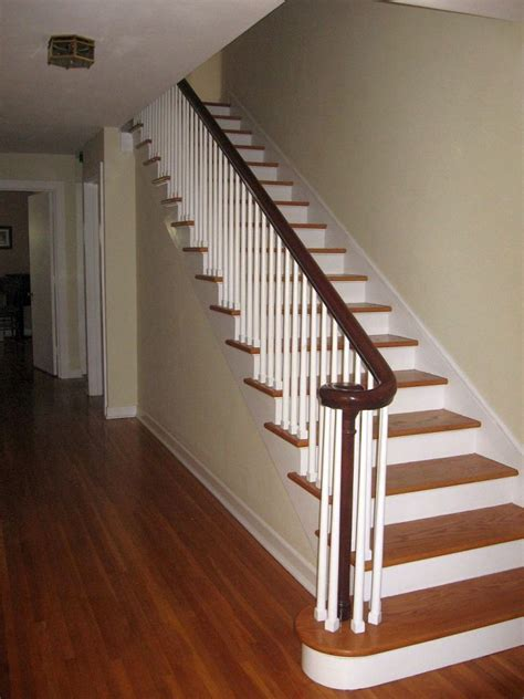 Wooden Staircase Design Simple Wooden Staircase Designs With Wide Linings
