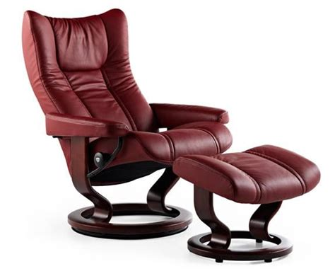 stressless recliners used stressless wing leather recliner chairs